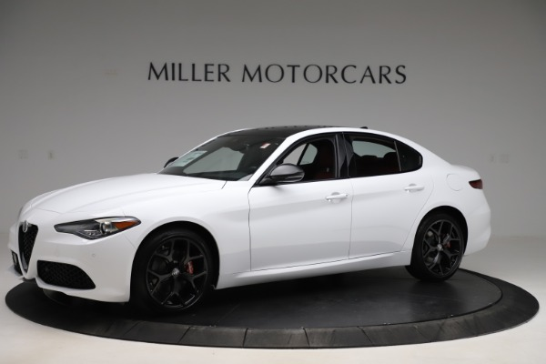New 2020 Alfa Romeo Giulia Ti Sport Q4 for sale $51,995 at Rolls-Royce Motor Cars Greenwich in Greenwich CT 06830 2
