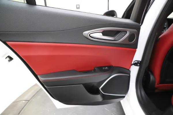 New 2020 Alfa Romeo Giulia Ti Sport Q4 for sale Call for price at Rolls-Royce Motor Cars Greenwich in Greenwich CT 06830 22