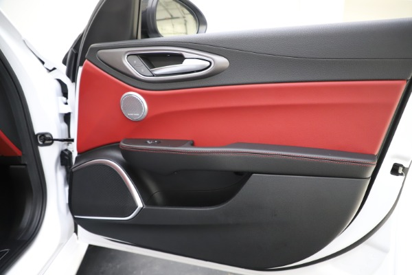 New 2020 Alfa Romeo Giulia Ti Sport Q4 for sale Call for price at Rolls-Royce Motor Cars Greenwich in Greenwich CT 06830 26