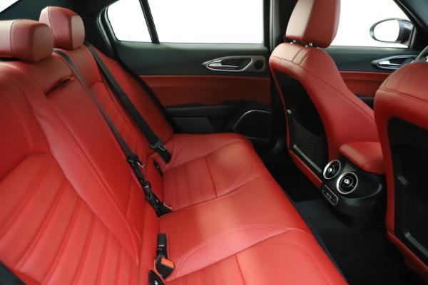 New 2020 Alfa Romeo Giulia Ti Sport Q4 for sale Call for price at Rolls-Royce Motor Cars Greenwich in Greenwich CT 06830 28