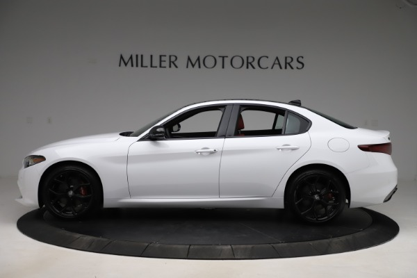 New 2020 Alfa Romeo Giulia Ti Sport Q4 for sale $51,995 at Rolls-Royce Motor Cars Greenwich in Greenwich CT 06830 3