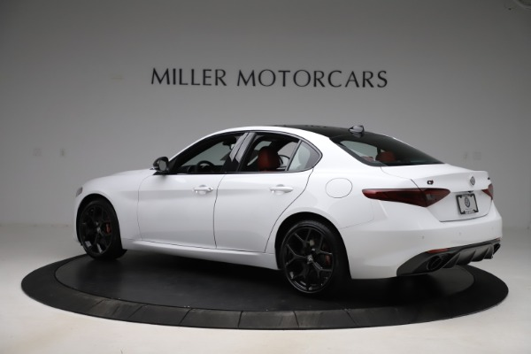 New 2020 Alfa Romeo Giulia Ti Sport Q4 for sale $51,995 at Rolls-Royce Motor Cars Greenwich in Greenwich CT 06830 4
