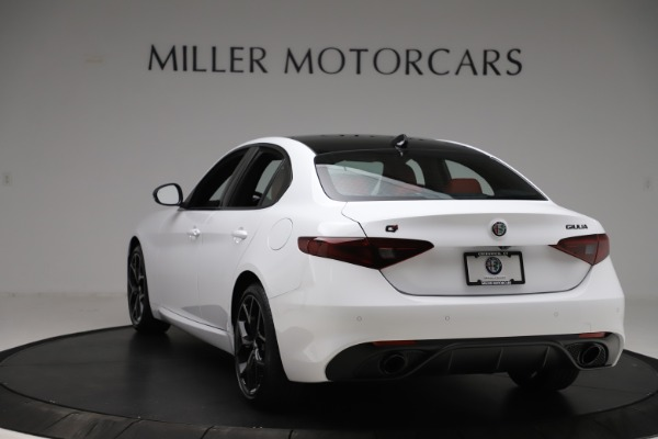 New 2020 Alfa Romeo Giulia Ti Sport Q4 for sale $51,995 at Rolls-Royce Motor Cars Greenwich in Greenwich CT 06830 5