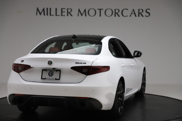 New 2020 Alfa Romeo Giulia Ti Sport Q4 for sale $51,995 at Rolls-Royce Motor Cars Greenwich in Greenwich CT 06830 7