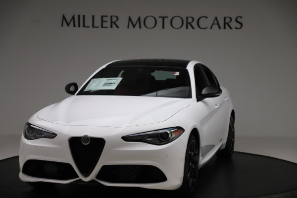 New 2020 Alfa Romeo Giulia Ti Sport Q4 for sale $51,995 at Rolls-Royce Motor Cars Greenwich in Greenwich CT 06830 1