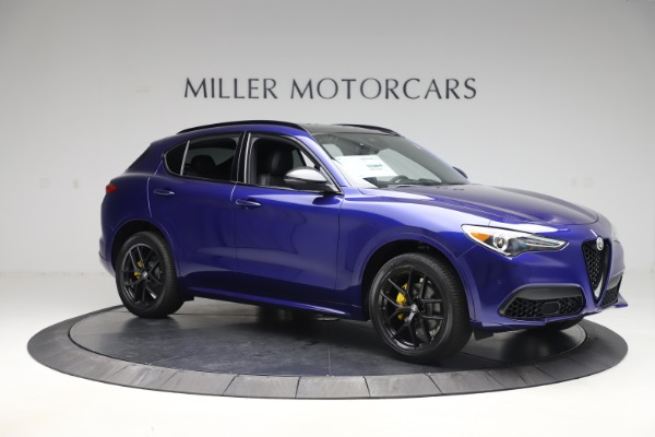 New 2020 Alfa Romeo Stelvio Ti Sport Q4 for sale Sold at Rolls-Royce Motor Cars Greenwich in Greenwich CT 06830 10