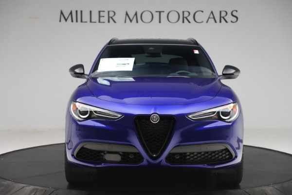 New 2020 Alfa Romeo Stelvio Ti Sport Q4 for sale Sold at Rolls-Royce Motor Cars Greenwich in Greenwich CT 06830 12