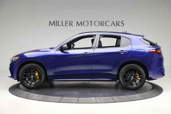 New 2020 Alfa Romeo Stelvio Ti Sport Q4 for sale Sold at Rolls-Royce Motor Cars Greenwich in Greenwich CT 06830 3