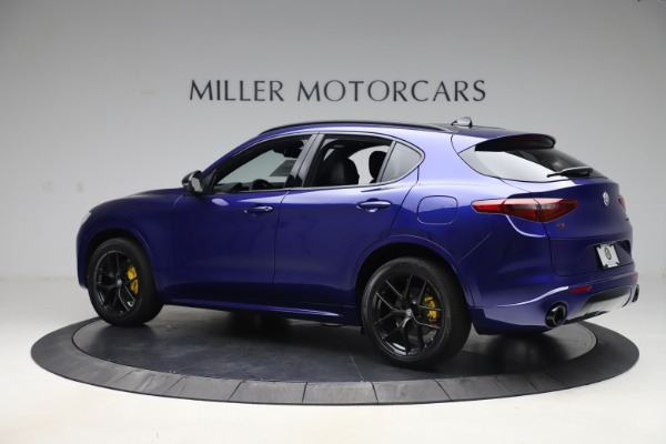 New 2020 Alfa Romeo Stelvio Ti Sport Q4 for sale Sold at Rolls-Royce Motor Cars Greenwich in Greenwich CT 06830 4