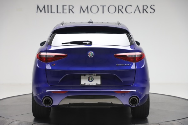 New 2020 Alfa Romeo Stelvio Ti Sport Q4 for sale Sold at Rolls-Royce Motor Cars Greenwich in Greenwich CT 06830 6