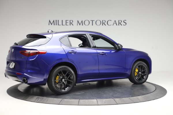 New 2020 Alfa Romeo Stelvio Ti Sport Q4 for sale Sold at Rolls-Royce Motor Cars Greenwich in Greenwich CT 06830 8