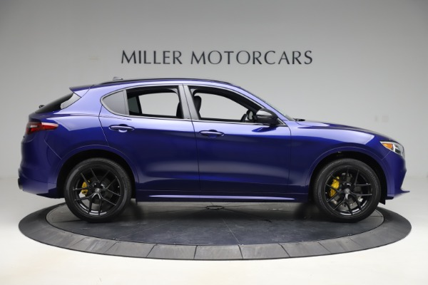 New 2020 Alfa Romeo Stelvio Ti Sport Q4 for sale Sold at Rolls-Royce Motor Cars Greenwich in Greenwich CT 06830 9