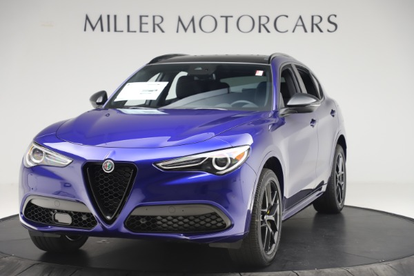 New 2020 Alfa Romeo Stelvio Ti Sport Q4 for sale Sold at Rolls-Royce Motor Cars Greenwich in Greenwich CT 06830 1