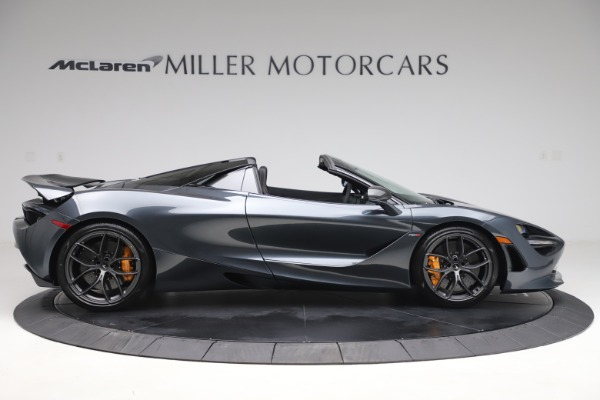 New 2020 McLaren 720S Spider Performance for sale $384,930 at Rolls-Royce Motor Cars Greenwich in Greenwich CT 06830 8