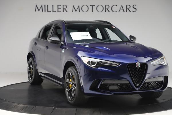 New 2020 Alfa Romeo Stelvio Quadrifoglio for sale Sold at Rolls-Royce Motor Cars Greenwich in Greenwich CT 06830 11