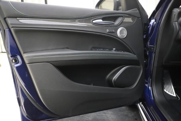 New 2020 Alfa Romeo Stelvio Quadrifoglio for sale Sold at Rolls-Royce Motor Cars Greenwich in Greenwich CT 06830 17