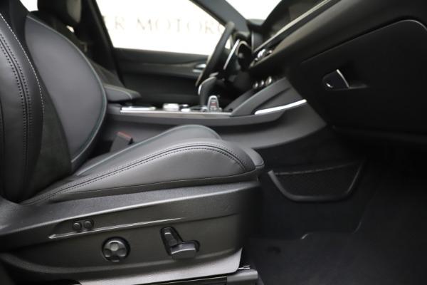 New 2020 Alfa Romeo Stelvio Quadrifoglio for sale Sold at Rolls-Royce Motor Cars Greenwich in Greenwich CT 06830 23