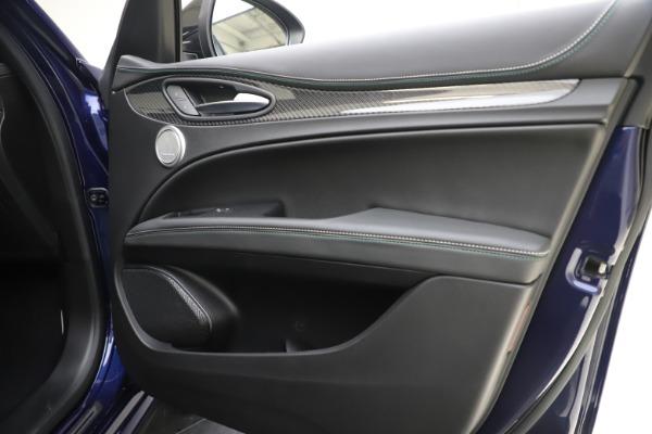 New 2020 Alfa Romeo Stelvio Quadrifoglio for sale Sold at Rolls-Royce Motor Cars Greenwich in Greenwich CT 06830 25