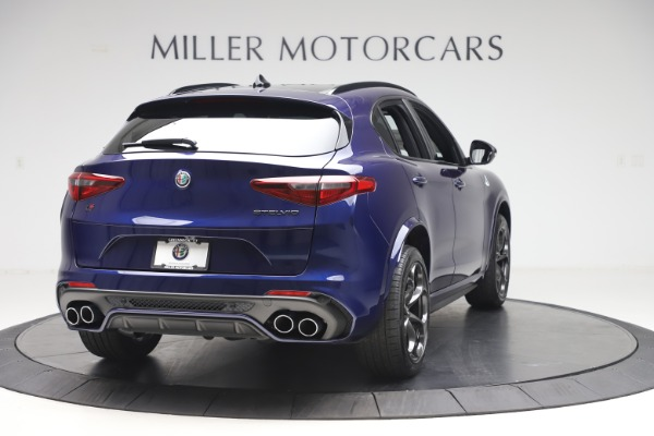 New 2020 Alfa Romeo Stelvio Quadrifoglio for sale Sold at Rolls-Royce Motor Cars Greenwich in Greenwich CT 06830 7
