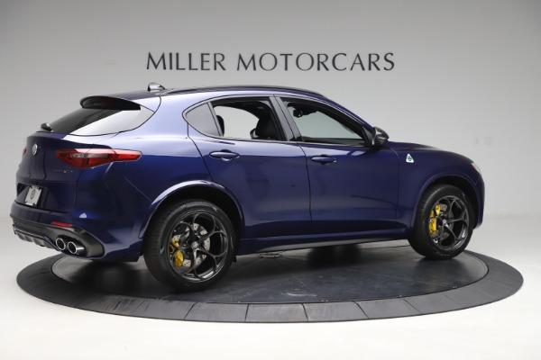 New 2020 Alfa Romeo Stelvio Quadrifoglio for sale Sold at Rolls-Royce Motor Cars Greenwich in Greenwich CT 06830 8