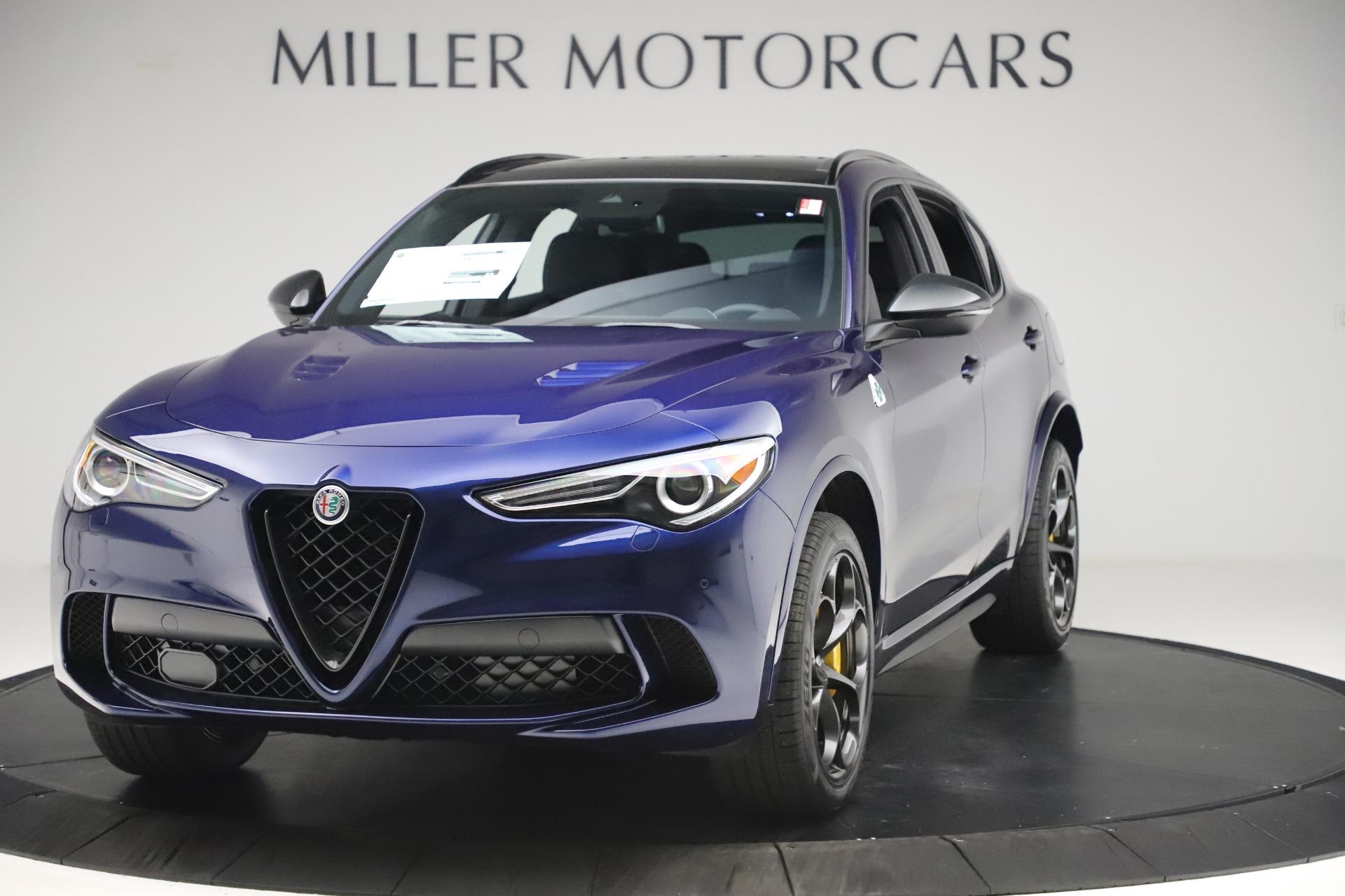 New 2020 Alfa Romeo Stelvio Quadrifoglio for sale Sold at Rolls-Royce Motor Cars Greenwich in Greenwich CT 06830 1