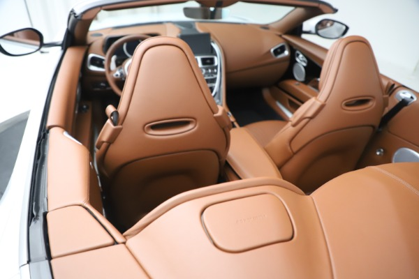 New 2020 Aston Martin DB11 Volante Convertible for sale $244,066 at Rolls-Royce Motor Cars Greenwich in Greenwich CT 06830 22