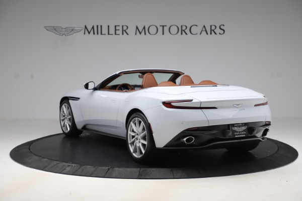 New 2020 Aston Martin DB11 Volante Convertible for sale $244,066 at Rolls-Royce Motor Cars Greenwich in Greenwich CT 06830 6