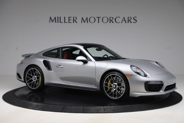 Used 2017 Porsche 911 Turbo S for sale $154,900 at Rolls-Royce Motor Cars Greenwich in Greenwich CT 06830 10