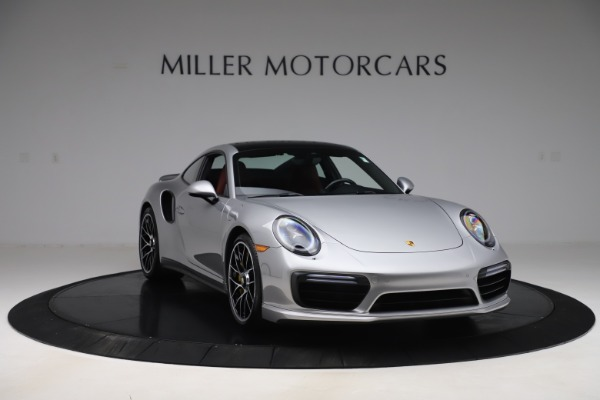 Used 2017 Porsche 911 Turbo S for sale $154,900 at Rolls-Royce Motor Cars Greenwich in Greenwich CT 06830 11