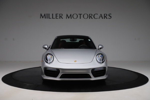 Used 2017 Porsche 911 Turbo S for sale $154,900 at Rolls-Royce Motor Cars Greenwich in Greenwich CT 06830 12
