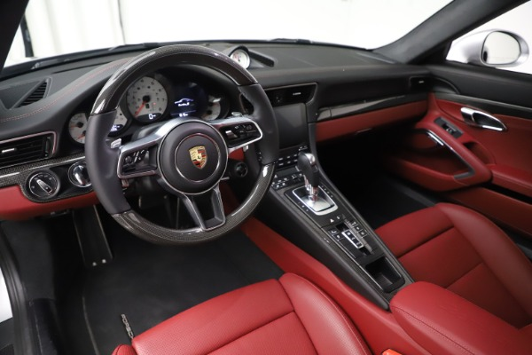 Used 2017 Porsche 911 Turbo S for sale $154,900 at Rolls-Royce Motor Cars Greenwich in Greenwich CT 06830 13