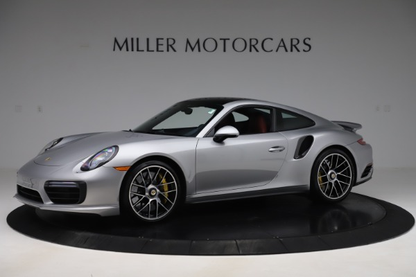 Used 2017 Porsche 911 Turbo S for sale $154,900 at Rolls-Royce Motor Cars Greenwich in Greenwich CT 06830 2