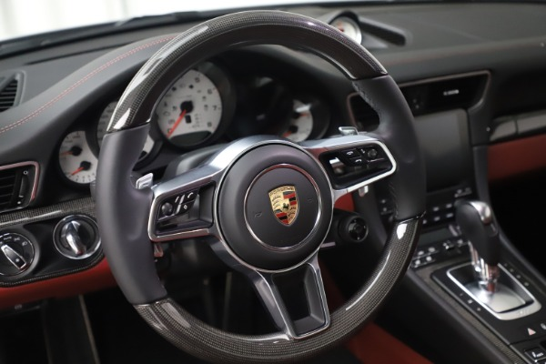 Used 2017 Porsche 911 Turbo S for sale $154,900 at Rolls-Royce Motor Cars Greenwich in Greenwich CT 06830 21