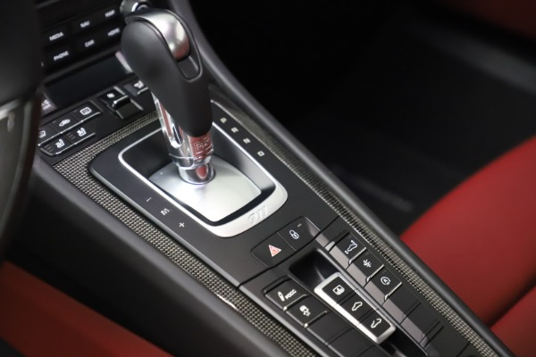 Used 2017 Porsche 911 Turbo S for sale $154,900 at Rolls-Royce Motor Cars Greenwich in Greenwich CT 06830 22