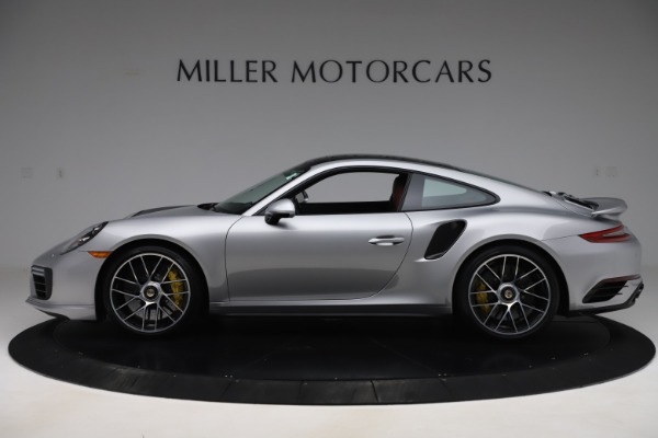 Used 2017 Porsche 911 Turbo S for sale $154,900 at Rolls-Royce Motor Cars Greenwich in Greenwich CT 06830 3