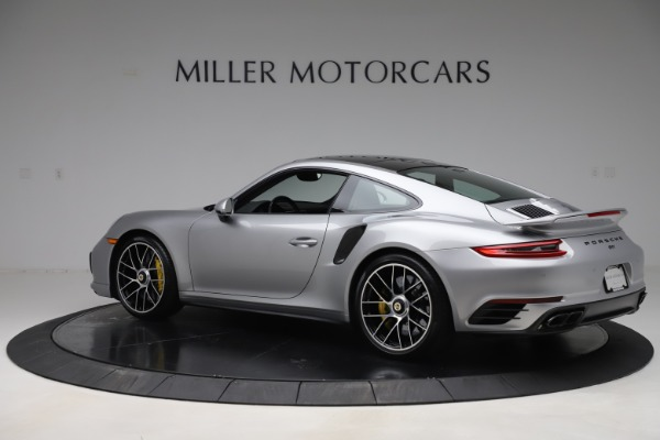 Used 2017 Porsche 911 Turbo S for sale $154,900 at Rolls-Royce Motor Cars Greenwich in Greenwich CT 06830 4