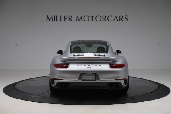 Used 2017 Porsche 911 Turbo S for sale $154,900 at Rolls-Royce Motor Cars Greenwich in Greenwich CT 06830 6