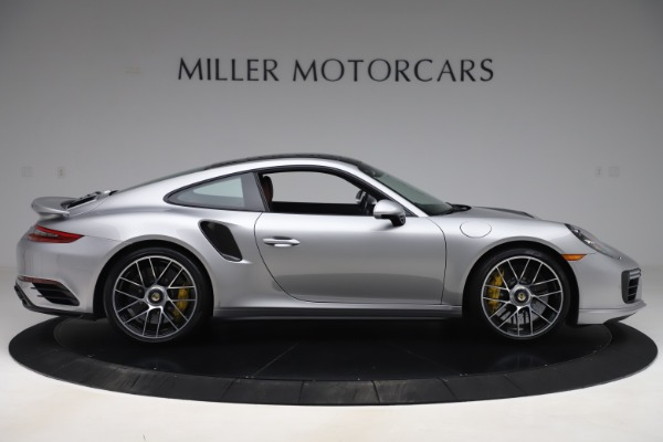 Used 2017 Porsche 911 Turbo S for sale $154,900 at Rolls-Royce Motor Cars Greenwich in Greenwich CT 06830 9