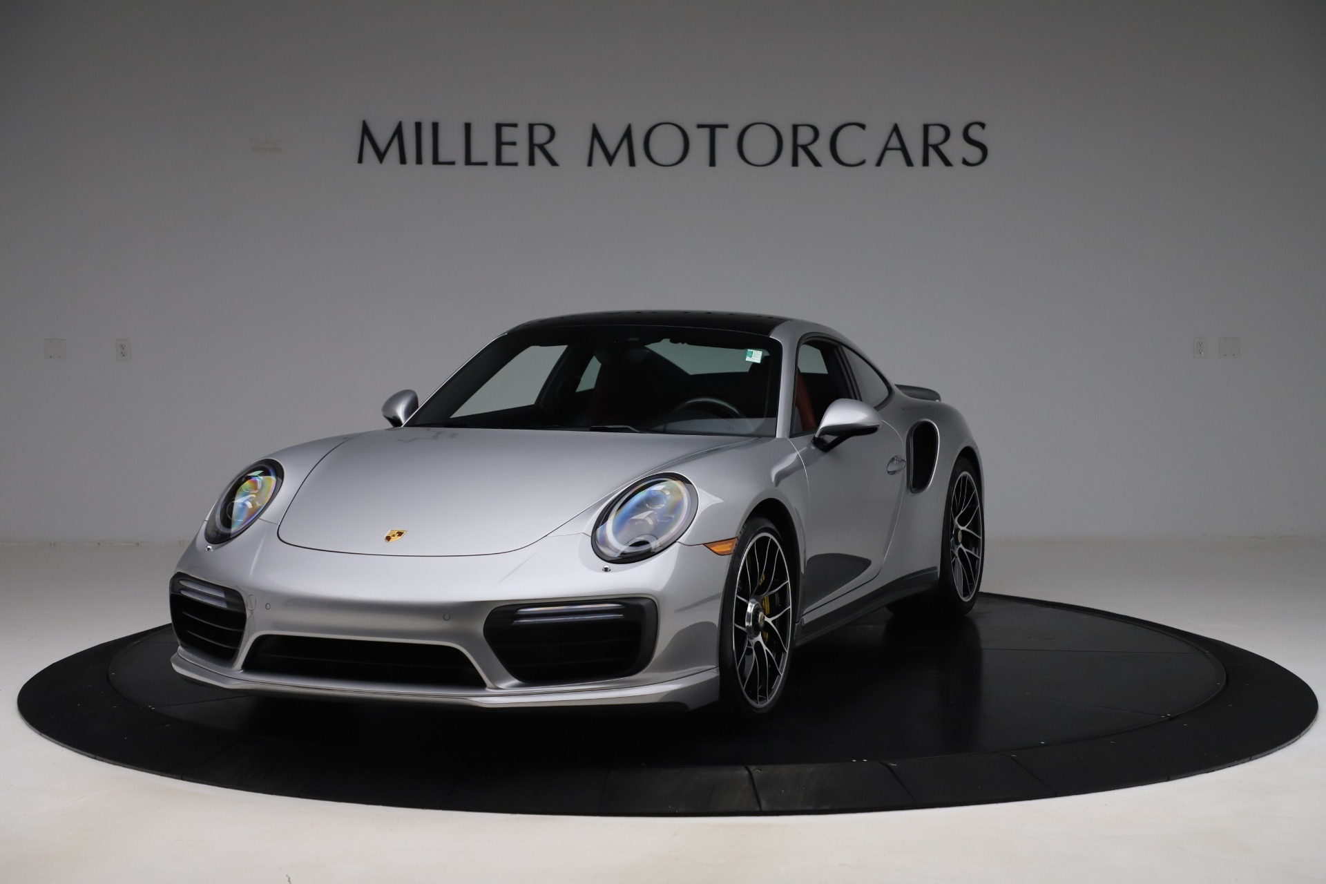 Used 2017 Porsche 911 Turbo S for sale $154,900 at Rolls-Royce Motor Cars Greenwich in Greenwich CT 06830 1
