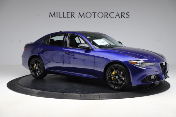 New 2020 Alfa Romeo Giulia Ti Q4 for sale $46,145 at Rolls-Royce Motor Cars Greenwich in Greenwich CT 06830 10