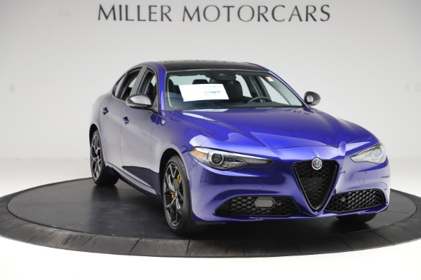 New 2020 Alfa Romeo Giulia Ti Q4 for sale $46,145 at Rolls-Royce Motor Cars Greenwich in Greenwich CT 06830 11