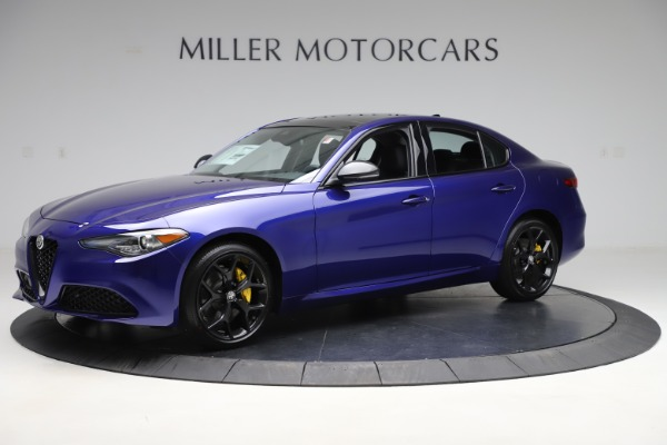 New 2020 Alfa Romeo Giulia Ti Q4 for sale $46,145 at Rolls-Royce Motor Cars Greenwich in Greenwich CT 06830 2