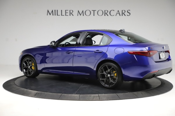 New 2020 Alfa Romeo Giulia Ti Q4 for sale $46,145 at Rolls-Royce Motor Cars Greenwich in Greenwich CT 06830 4
