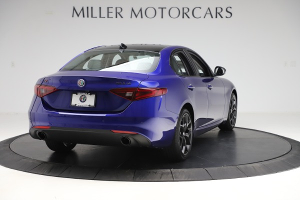 New 2020 Alfa Romeo Giulia Ti Q4 for sale $46,145 at Rolls-Royce Motor Cars Greenwich in Greenwich CT 06830 7