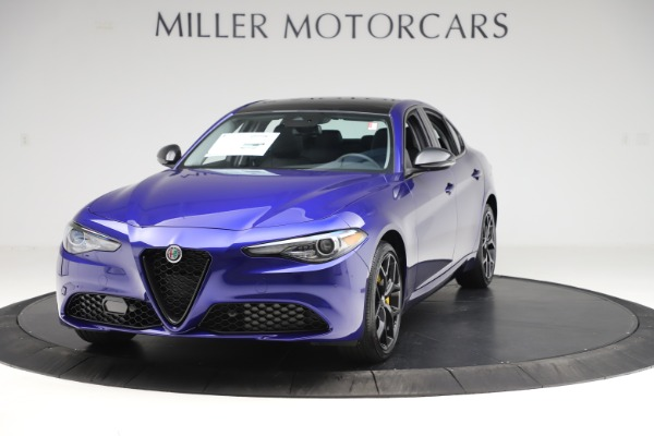 New 2020 Alfa Romeo Giulia Ti Q4 for sale $46,145 at Rolls-Royce Motor Cars Greenwich in Greenwich CT 06830 1