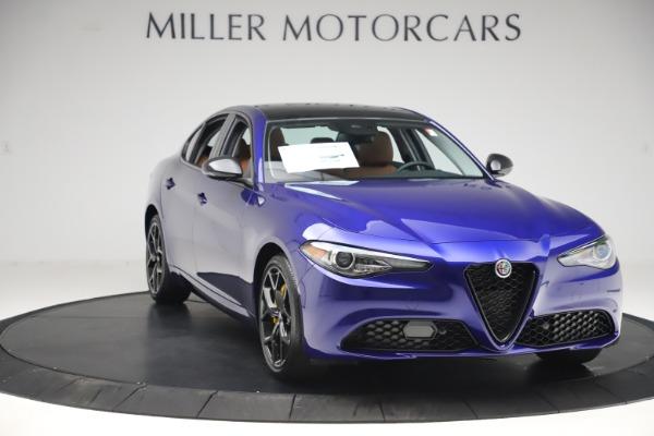 New 2020 Alfa Romeo Giulia Ti Q4 for sale $51,145 at Rolls-Royce Motor Cars Greenwich in Greenwich CT 06830 11
