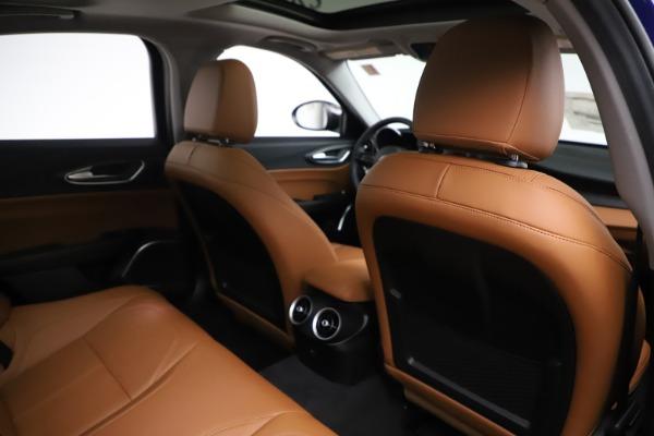 New 2020 Alfa Romeo Giulia Ti Q4 for sale $51,145 at Rolls-Royce Motor Cars Greenwich in Greenwich CT 06830 28