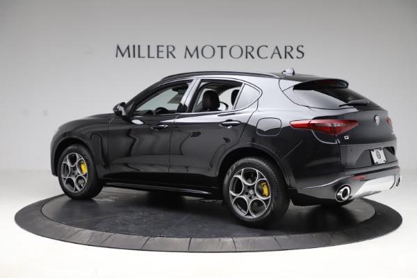 New 2020 Alfa Romeo Stelvio Sport Q4 for sale $49,695 at Rolls-Royce Motor Cars Greenwich in Greenwich CT 06830 4