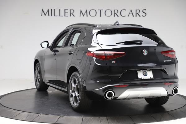 New 2020 Alfa Romeo Stelvio Sport Q4 for sale $49,695 at Rolls-Royce Motor Cars Greenwich in Greenwich CT 06830 5