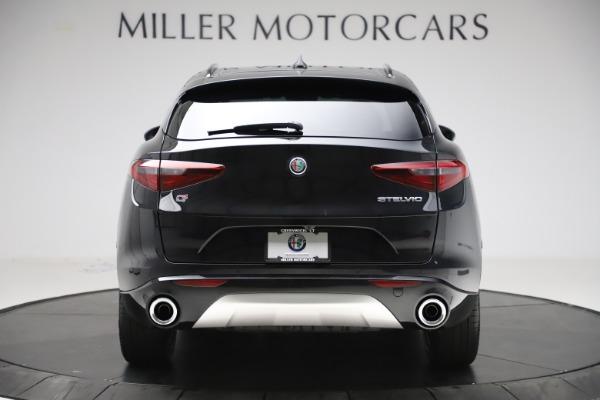 New 2020 Alfa Romeo Stelvio Sport Q4 for sale $49,695 at Rolls-Royce Motor Cars Greenwich in Greenwich CT 06830 6